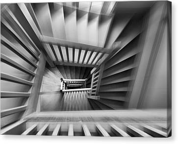 Old Staircase Canvas Print by Henk Van Maastricht