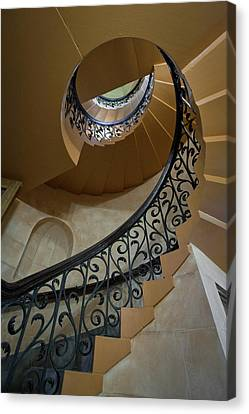 Canvas Print featuring the photograph Old Stairway by Robert Harshman