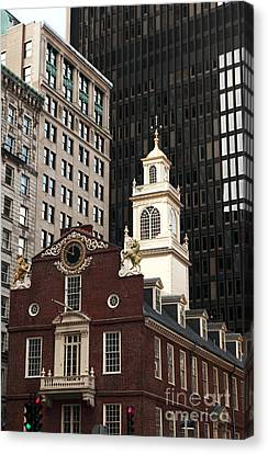 Old State House Canvas Print by John Rizzuto