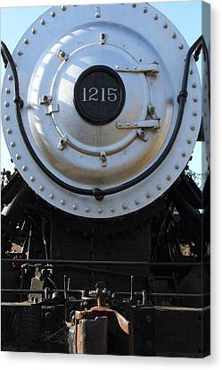 Old Steam Locomotive Engine 1215 . 7d12976 Canvas Print by Wingsdomain Art and Photography