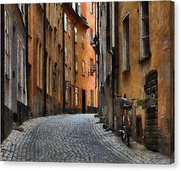 Old Stockholm Canvas Print by Joe Bonita
