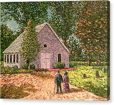 Old Stome Church Canvas Print by Frank Morrison