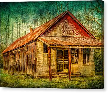 Old Store Canvas Print by Phillip Burrow