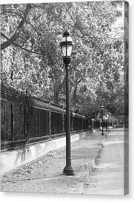 Old Street Lights Canvas Print