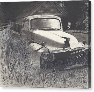Old Studebaker Canvas Print