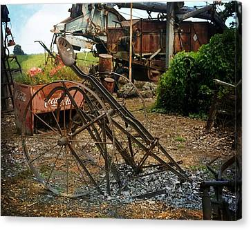 Canvas Print - Old Style Farming by Marty Koch