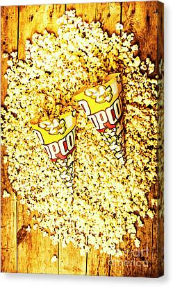 Junk Canvas Print - Old Style Popcorn Cones  by Jorgo Photography - Wall Art Gallery