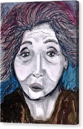 Old Suchi Canvas Print by JuneFelicia Bennett