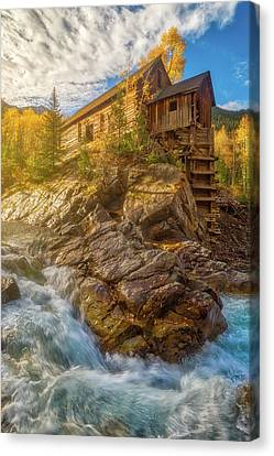 Crystal Colorado Canvas Print - Old Sunrise Along The River by Darren White