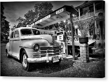 Old Taxi Canvas Print by Todd Hostetter