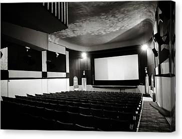 Old Theatre 3 Canvas Print by Marilyn Hunt