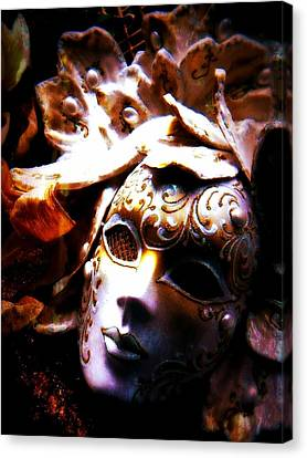 Old Time Masquerade Canvas Print