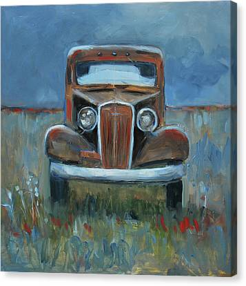Old Timer Canvas Print by Billie Colson