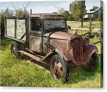 Old Timer Canvas Print by Murphy Elliott