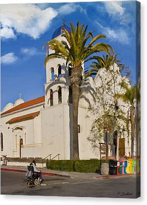 Old Town Church Canvas Print by Patricia Stalter