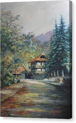 Old Town Dilijan Canvas Print by Tigran Ghulyan