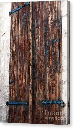 Old Town Door Canvas Print