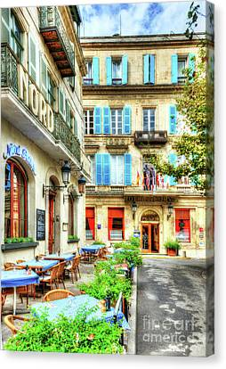 Old Town Of Arles 4 Canvas Print by Mel Steinhauer