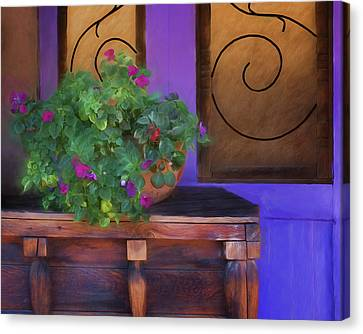 Old Town Still Life Canvas Print