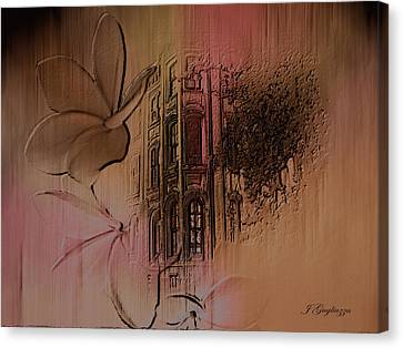 Old Towne Canvas Print by Jean Gugliuzza