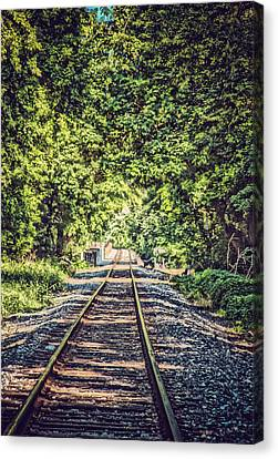Old Tracks Canvas Print