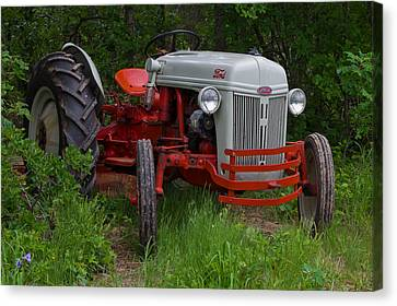 Old Tractor Canvas Print by Doug Long