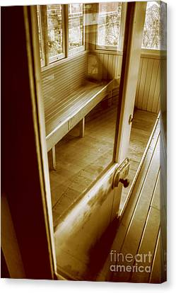 Old Train Cabin Canvas Print by Jorgo Photography - Wall Art Gallery