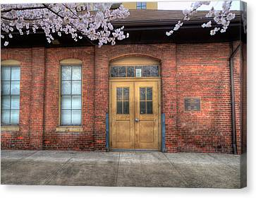 Canvas Print - Old Train Depot by Dan Friend