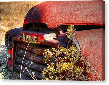 Old Truck 04 Canvas Print by Andy Savelle