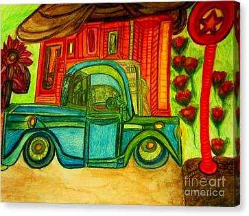 Old Truck  Canvas Print