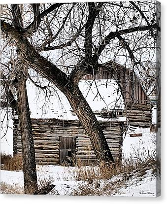 Old Ulm Barn Canvas Print
