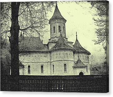 Romania Canvas Print - Old Village Church by Jeffrey Kolker
