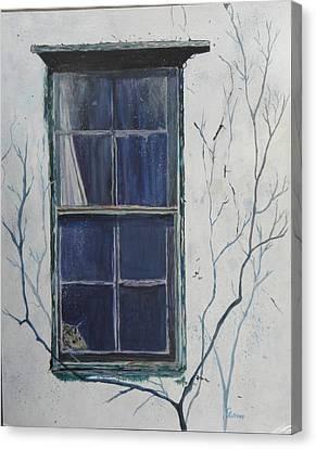 Old Window 2 Canvas Print