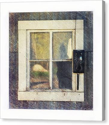 Old Window 3 Canvas Print by Priska Wettstein