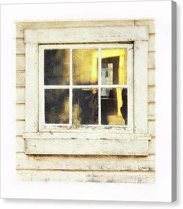 Old Window 4 Canvas Print by Priska Wettstein