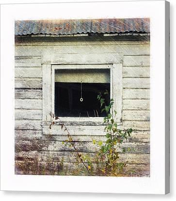 Old Window 6 Canvas Print by Priska Wettstein