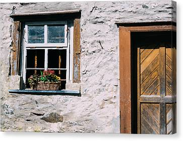 Old Window Canvas Print by Pati Photography