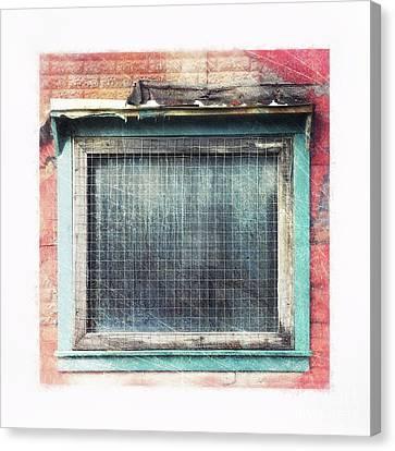Old Window Canvas Print by Priska Wettstein