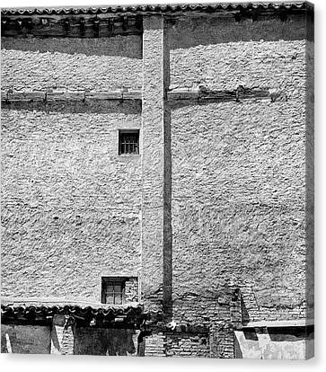 Old Windows Albaicin Granada Canvas Print