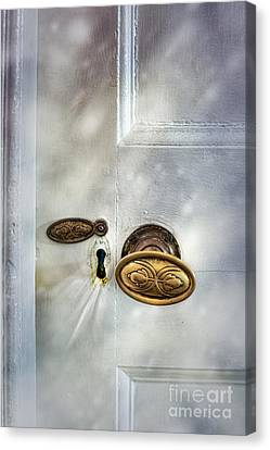 Old Wooden Door Canvas Print