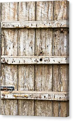 Old Wooden Gate Canvas Print