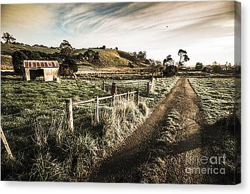 Old Wooden Shed Canvas Print by Jorgo Photography - Wall Art Gallery