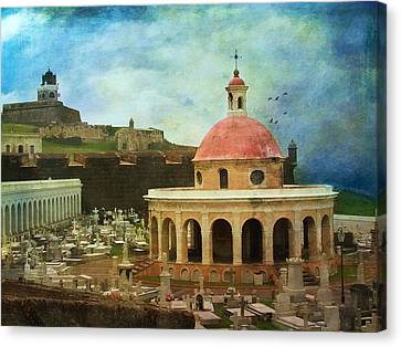 Canvas Print featuring the photograph Old World by John Rivera