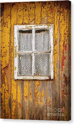 Old Yellow Door Canvas Print by Carlos Caetano