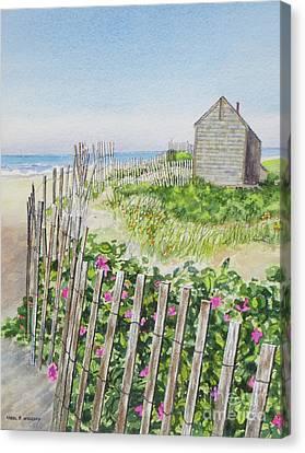 Olde Cape Cod Canvas Print by Karol Wyckoff