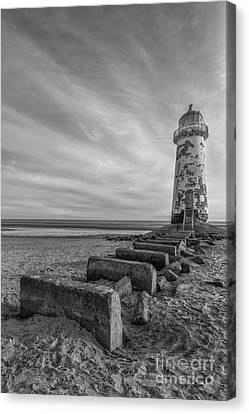 Olde Lighthouse Canvas Print by Ian Mitchell