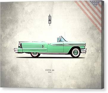 Oldsmobile Super 88 1958 Canvas Print