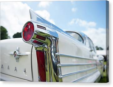 Oldsmobile Tail Canvas Print by Helen Northcott