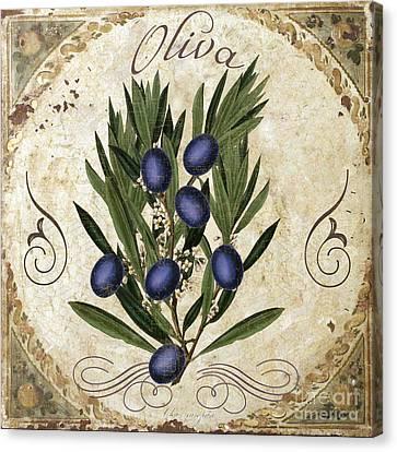 Oliva Black Olives Canvas Print