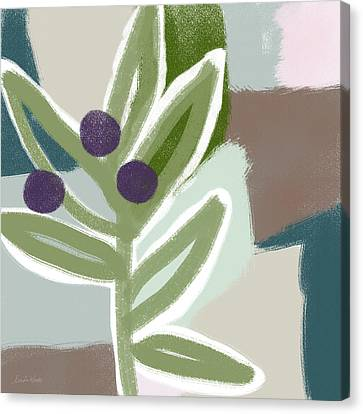 Italian Kitchen Canvas Print - Olive Branch 1- Art By Linda Woods by Linda Woods